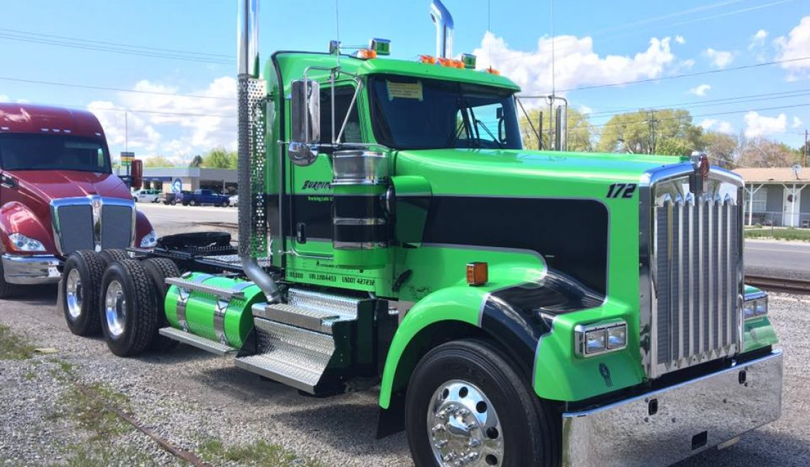 Burningham Trucking, Green Kenworth, 172