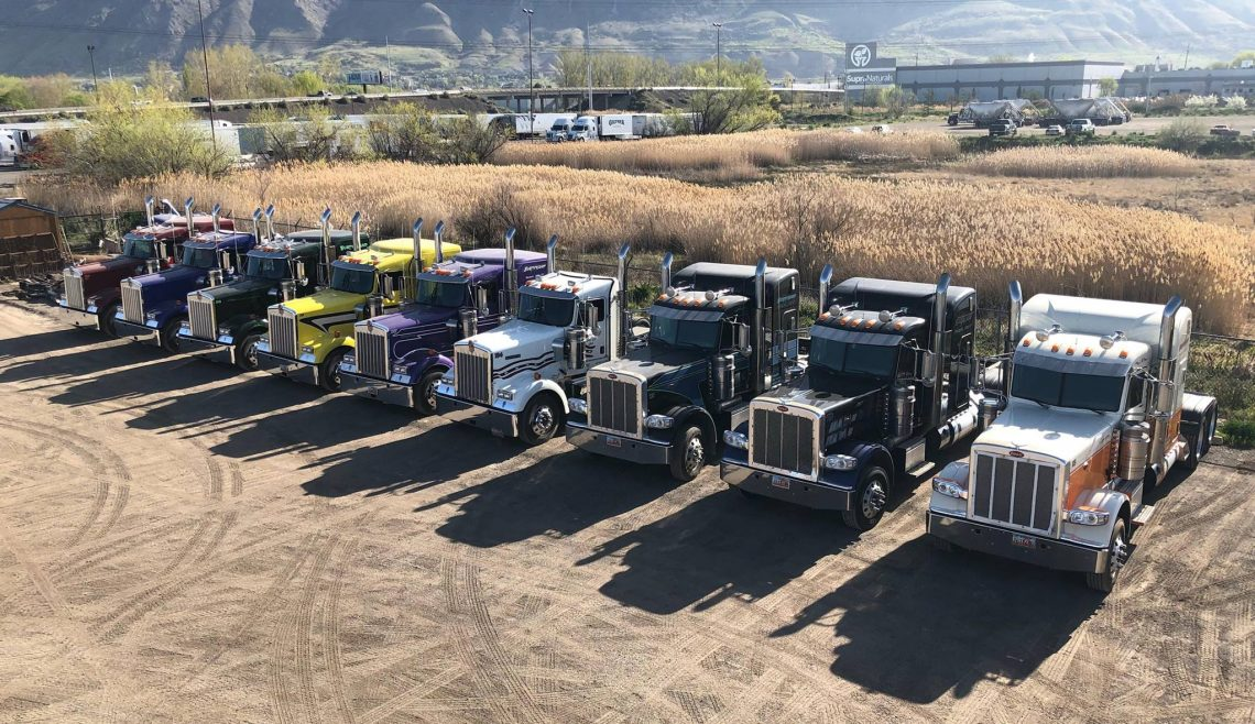 Burningham Trucking Springville Yard 2018