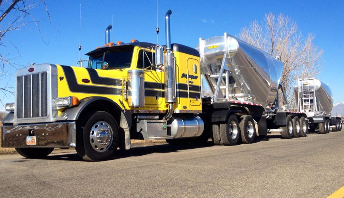 Burningham Trucking, Yellow Kenworth, 9